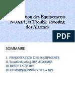 Procédure de Troubleshooting et de gestion des alarmes (1)