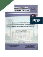 La gouvernance des finances des colléctivités territoriales
