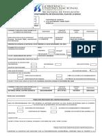 Formato de Licencia Carlos Flores