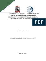 Estágio Supervisionado 1 - Débora Soares Alves (1)