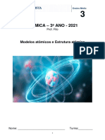 Apostila 3 - Modelos Atômicos