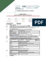 Codigo SNIP Del Proyecto de Inversión Pública234