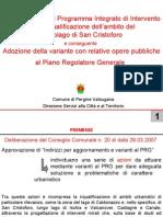 Piano di rilancio di San Cristoforo al Lago (Pergine Valsugana)