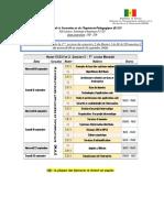 PROMO2-M1S2 SRIV Et IL- Calendrier Des Examens Sem. 2 (Session 1)- PSTN