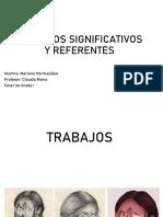 Trabajos Significativos y Referentes Mariana