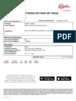 Tasa CN 19-05