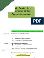 Séquence 1 module gestion de production