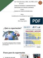 Contabilidad de Comercio Internacional
