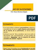 DERECHO DE SUCESIONES  vitual testamento