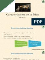 Caracterización de la ética