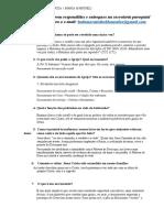 Questionário - Cartilha para Form. de Pais e Padrinhos em tempo de pandemia