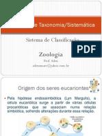 Princípios de Taxonomia