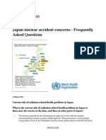 Japan Nuclear Accident Concerns - Frequently Asked Questions