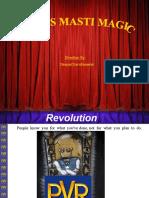 Startegic Marketing of PVR Cinemas