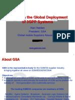 3GPP Beijing workshop Hadden GSA