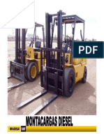 mantenimiento montacargas diesel