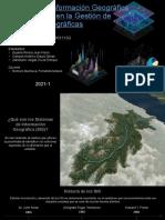 Sistemas de Información Geográfica implementado en la Gestión