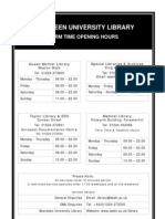 library opening hrs