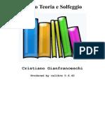 Corso Teoria e Solfeggio - Cristiano Gianfranceschi