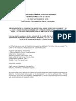 Corte IDH - OC 26-20 - Denuncia de la CADH y COEA y sus efectos sobre las obligaciones estatales en materia de derechos humanos