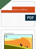 Ecosistemas en México