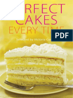 Perfect Cakes Every Time - Victoria Combe