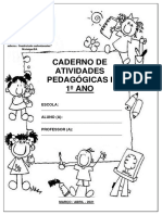 1º Ano -i Caderno Pedagógico 2021