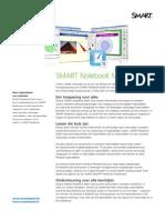 Productblad SMART Notebook Math -NL