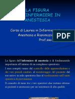 1.LA FIGURA DELL'INFERMIERE IN ANESTESIA