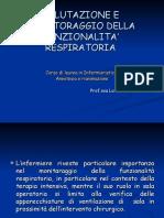 5.VALUTAZIONE E MONITORAGGIO DELLA FUNZIONALITA' RESPIRATORIA