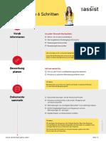 UA Checkliste Standard Verfahren