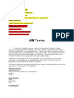 Kill Teams v3.1
