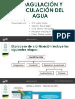 COAGULACIÓN-FLOCULACION