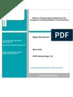 Nino-Zarazua (2011) Mexico's Progresa-Oportunidades and the emergence of social assistance in LA