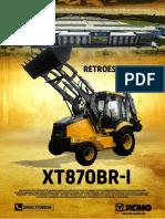 XCMG Retroescavadeira XT870BR
