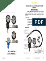 Manual vazamento de cilindros