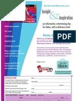 Insight & Inspiration April 2011 Flyer