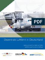 Mobilitätsstudie der dezentralen Luftfahrt 2018
