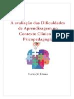 A Avaliação Das Dificuldades de Aprendizagem No Contexto Clínico Da Psicopedagogia (1)