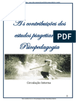 As Contribuições Dos Estudos Piagetianos à Psicopedagogia 1 (1)