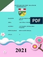 perfil del docente de educación inicial