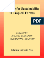 Hunting for Sustainability in Tropical Forest-Robinson-1999