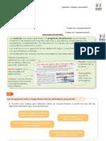 Instrucciones de Actividad LA NOTICIA.