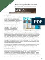 sinistrainrete.info-Note urgenti contro la campagna militar-vaccinale