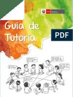 Guía Tutoría Segundo Grado.