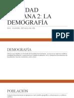 REALIDAD DEMOGRÁFICA DEL PERÚ