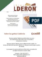 Catálogo Gubias Calderón 2021