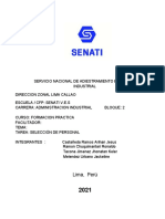 Proyecto de Mejora de Corporación Aceros Arequipa 1 y 2