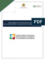 Smit Reglement Du Concours National Pour Lessor Du Tourisme Interne Marocain