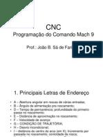 Programa--o do Comando Mach 9